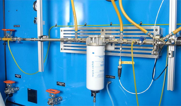 Advanced Multi Water Separator Test Stand